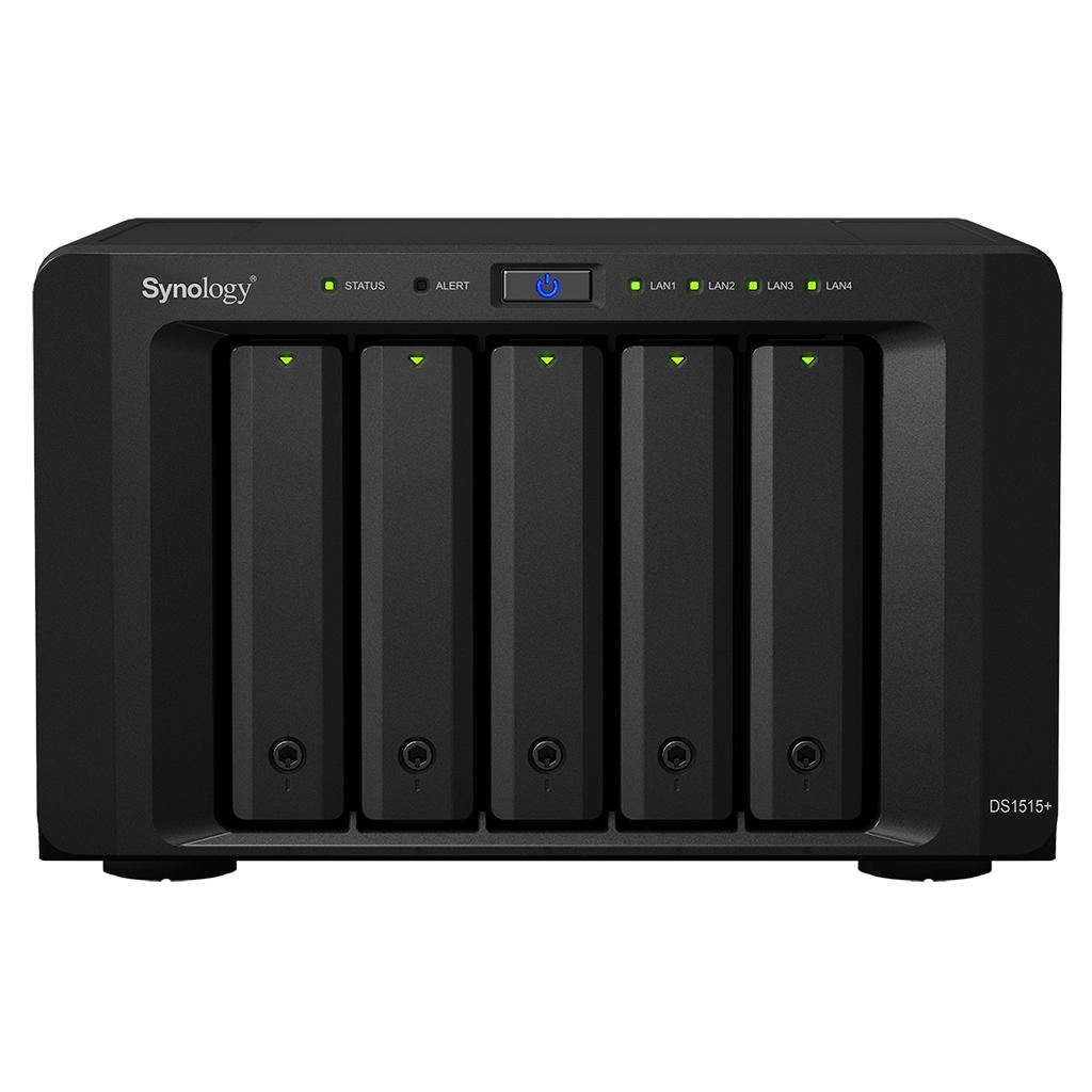 Synology DiskStation DS1515+  — 極致的流動辦公室