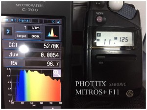 PHOTTIX_MITROS_F11_SPECTRUM