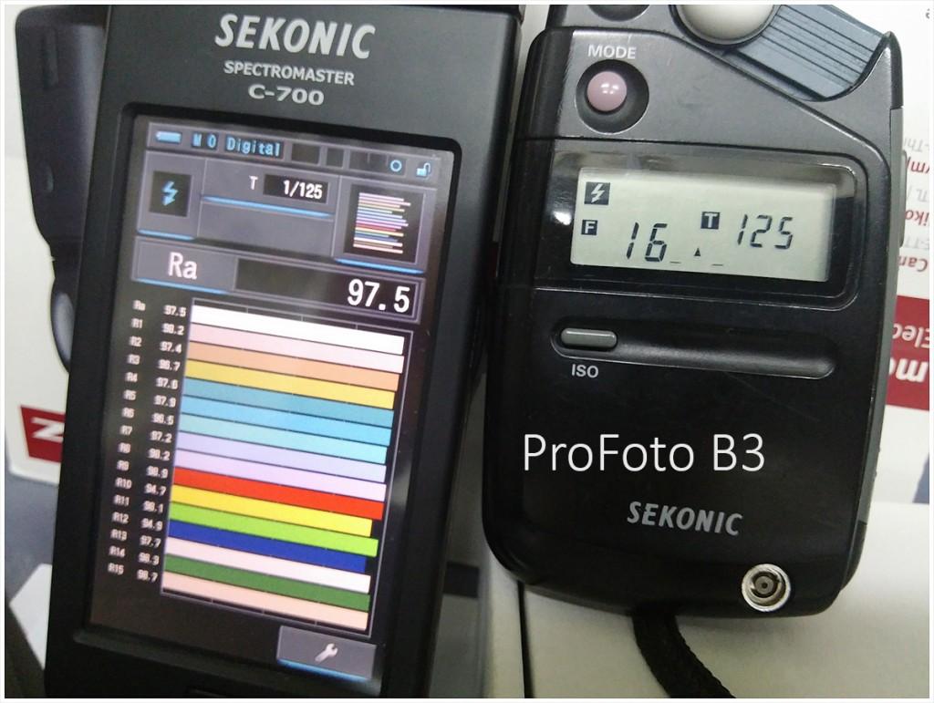 Sekonic C-700 光譜儀之應用 : 各種閃燈大測試 !!