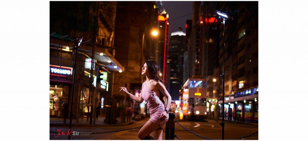 Tamron 新鏡夜景試影, 以Lykos LED Panel 為主光源。